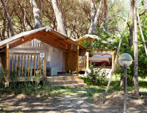 Glamping – Sistemazioni di lusso in campeggio