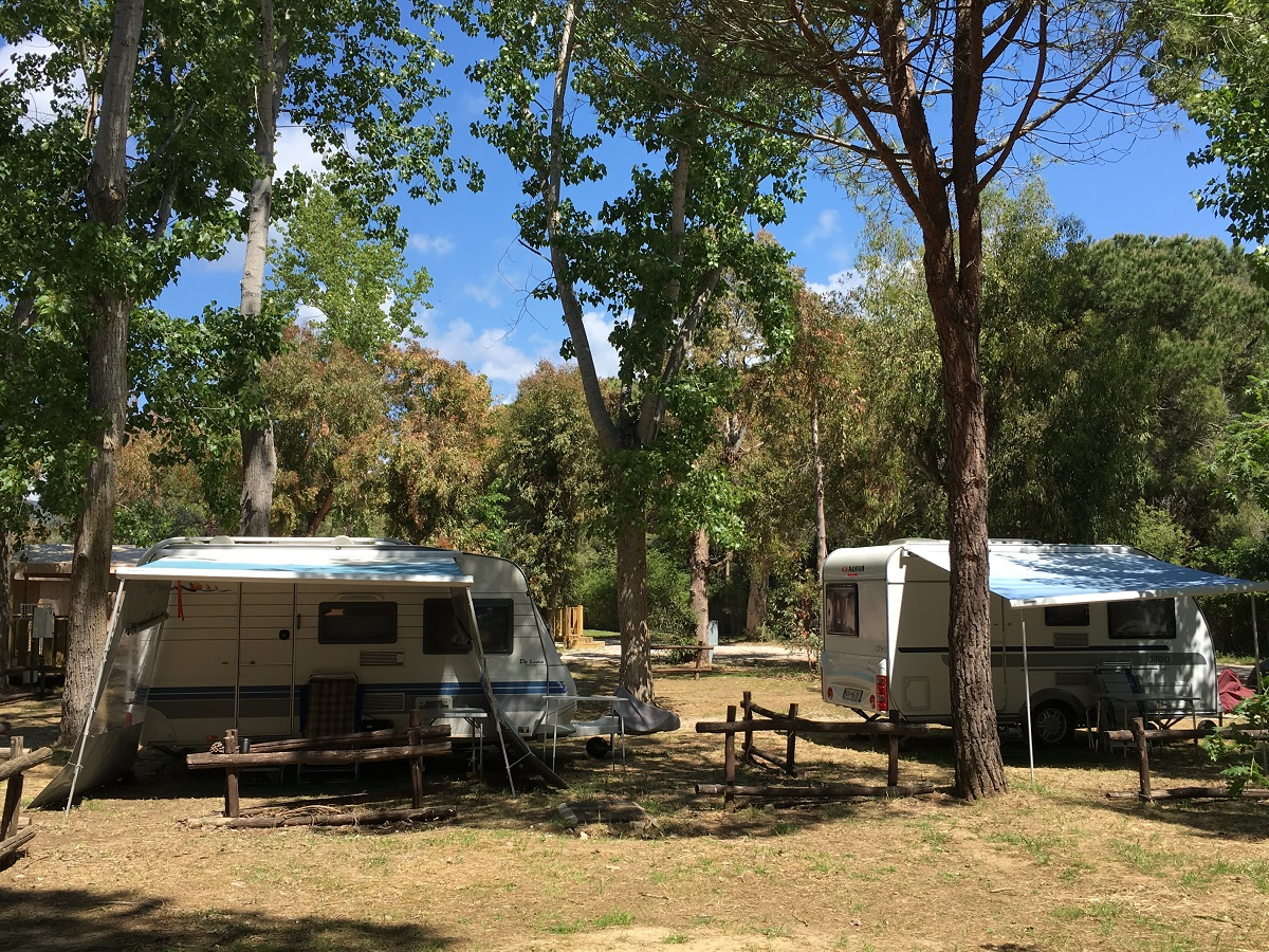 Piazzole Roulotte - Rocchette Camping Village