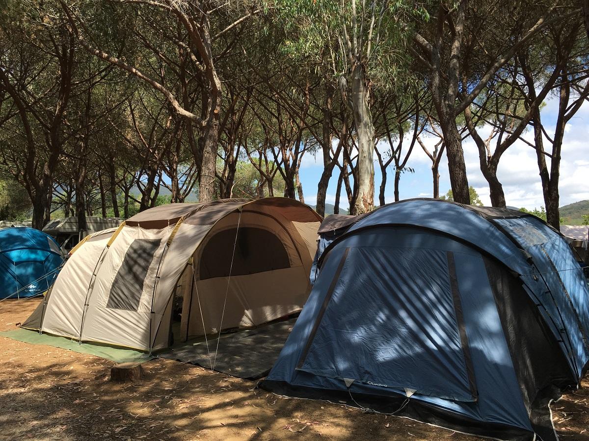Campeggio tenda - Rocchette Camping Village