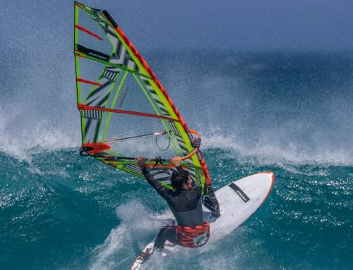 Windsurfing on holiday