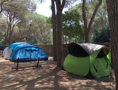 Camping in Tuscany by the sea