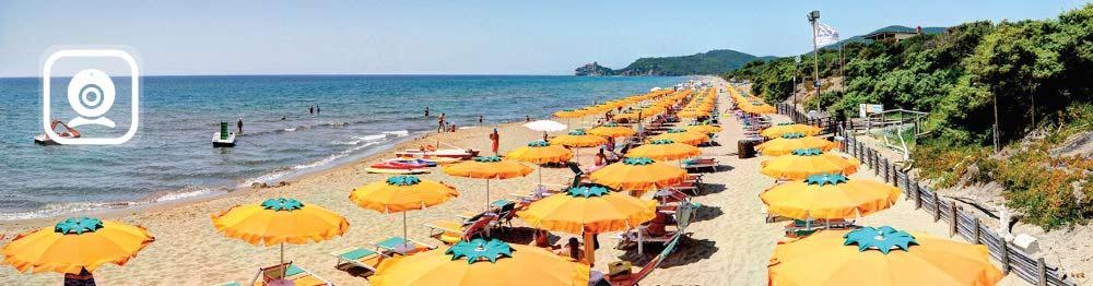 Panoramica spiaggia - Rocchette
